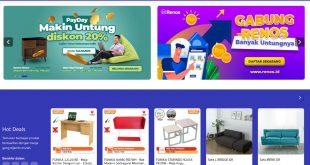 Renos.id, Marketplace Online Belanja Home Living Kini Hadir di Indonesia 56