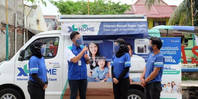 Sejak Juni 2020, Layanan XL Home Alami Peningkatan 200 Persen di Bandung Raya. 3