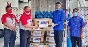 JNE Galang Donasi Tabung Oksigen Gratis Untuk Rumah Sakit se-Indonesia 5