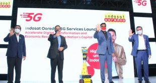 Dukung Era Industri 4.0, Indosat Ooredoo Luncurkan Layanan 5G 5