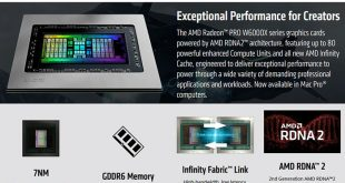 GPU AMD Terbaru Hadirkan Arsitektur AMD RDNA 2 3
