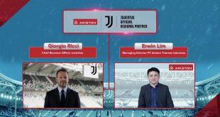 Kuasai 67 Persen Pasar Water Heater, Ariston Indonesia Kini Bermitra Dengan Juventus 5